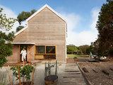 contemporary exterior Houzz Tour: Traditional Chicory Kiln Becomes a Retreat for Two (12 photos)