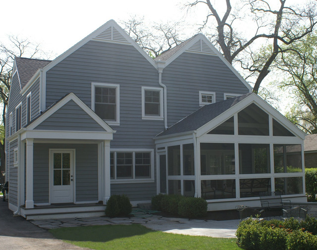a house of six gables - the exterior traditional-exterior