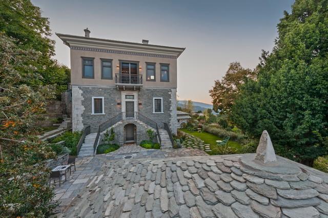 A mansion is reborn mediterranean-exterior