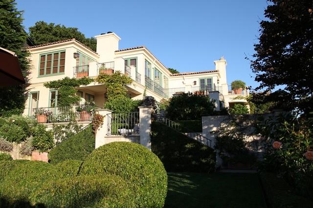 A Mediterranean Villa mediterranean-exterior