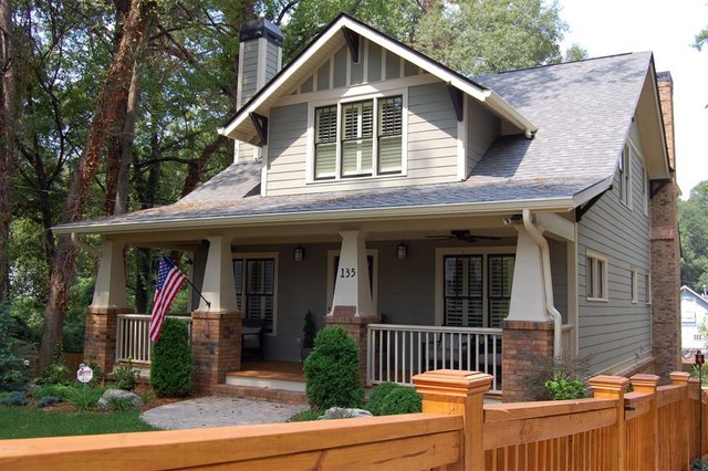 A new craftsman bungalow with historic charm for Craftsman cottage