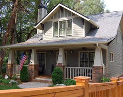 A new craftsman bungalow with historic charm. traditional exterior