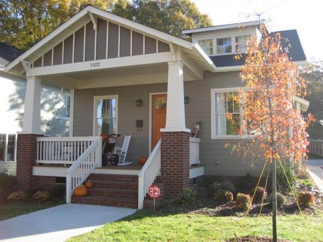 A New Craftsman Bungalow With Historic Charm Exterior