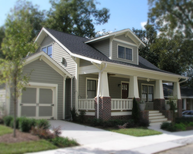 A new craftsman bungalow with historic charm for Atlanta craftsman homes