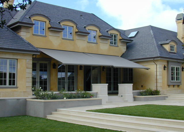 A new french style house in healdsburg traditional French style homes