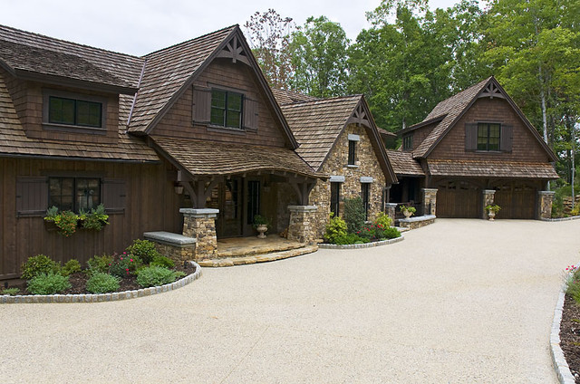 A Reserve Lakehouse Residence traditional-exterior