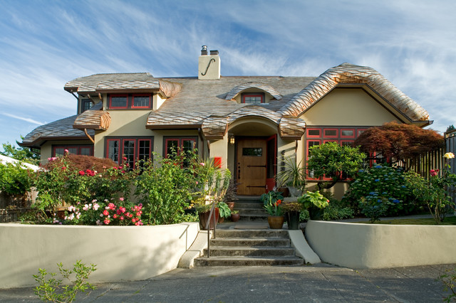 A Storybook Cottage contemporary-exterior