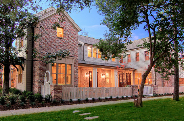 traditional exterior by Parker Stuckey Residential
