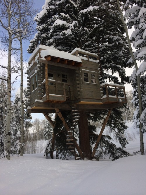 A Treehouse Fit for Kid Sleepovers and Adult Dinner Parties