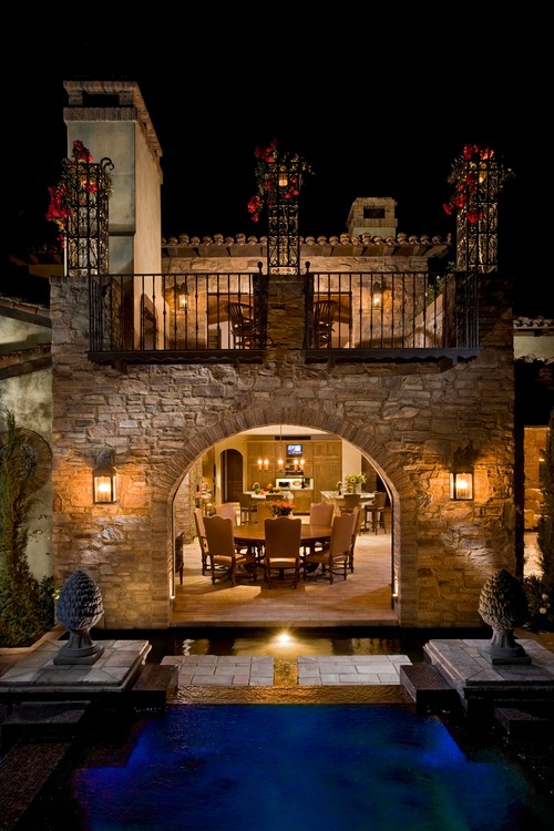 This is one of the most elegant homes I have ever seen  : mediterranean exterior from www.houzz.com size 500 x 750 jpeg 106kB