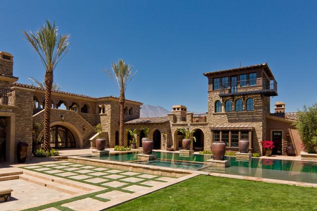 A Tuscan Villa 1 Mediterranean Exterior Orange