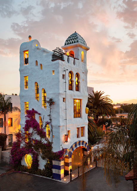 Ablitt House Mediterranean Exterior Santa Barbara
