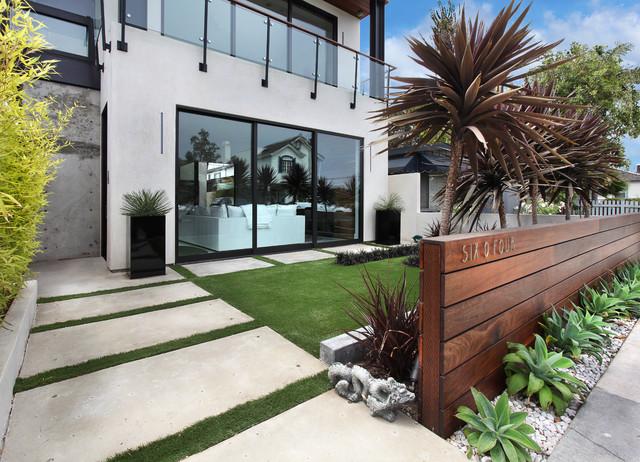 Acacia Custom contemporary-fasad