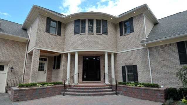 adam style house traditional exterior detroit by