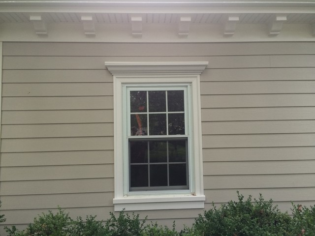 adams casing historic sill w 5 crown header traditional exterior by american home. Black Bedroom Furniture Sets. Home Design Ideas