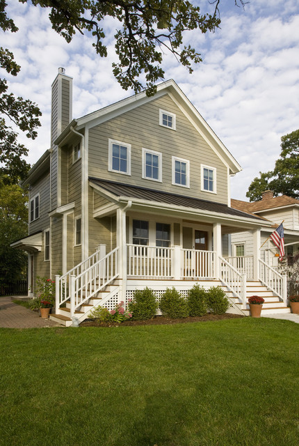 Addition & Exterior Material Replacement traditional-exterior
