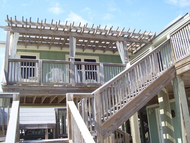 Addition, decks, cuploa & pergola tropical-exterior