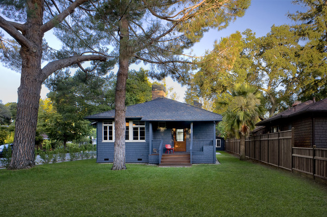 Addition/Remodel of Historic House in Palo Alto craftsman-exterior