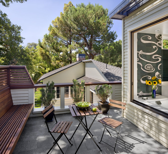 Addition/Remodel of Historic House in Palo Alto contemporary-exterior