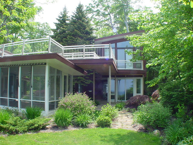 Inspiration for an exterior home remodel in Grand Rapids