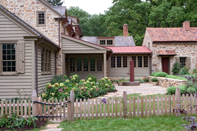 Additions And Renovation Oley Pa Farmhouse Exterior
