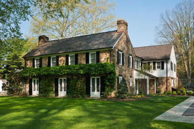 Additions renovation wayne pa pennsylvania fieldstone for Fieldstone house