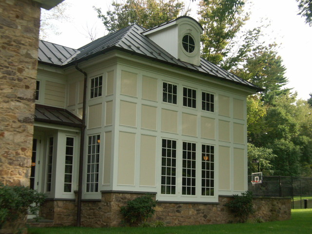 additions to an existing historic home traditional-exterior