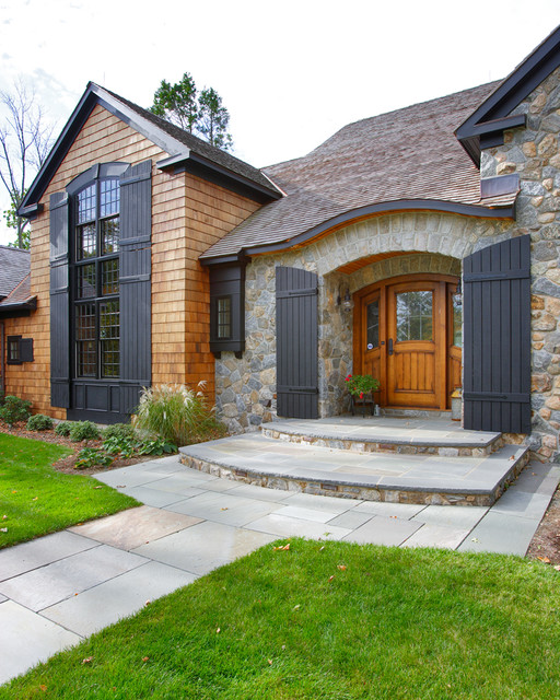 Adirondack Country Home - Avon, CT traditional-exterior