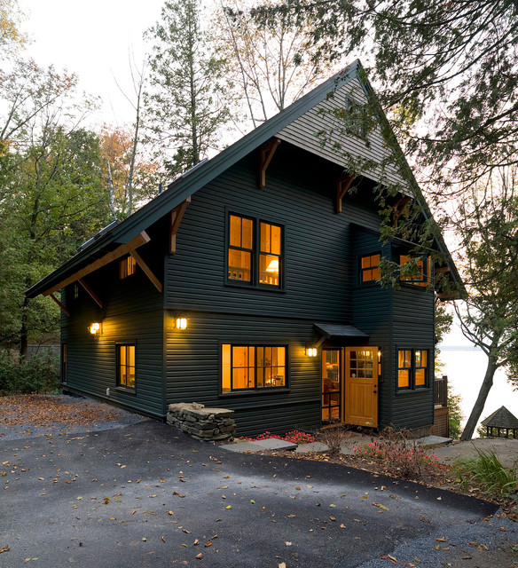Adirondack style camp for Adirondack style homes