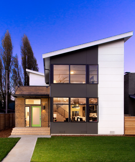 Admiral house contemporary exterior seattle by for Seattle modern house