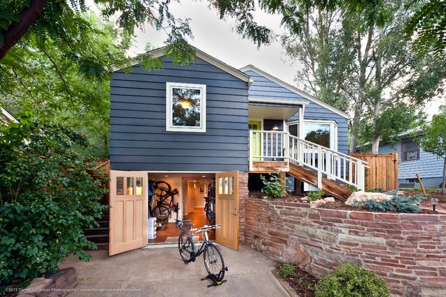 Adorable Cottage Renovation, Boulder CO traditional-exterior