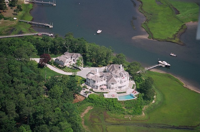 Aerial View traditional-exterior