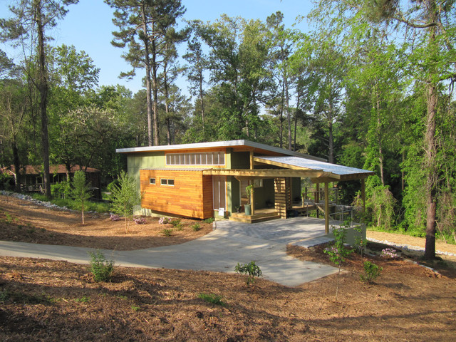 Affordable Modern Ranch Exterior Atlanta By