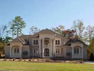 AHB Custom Home Builders - Royal Lakes Estates Residence traditional exterior