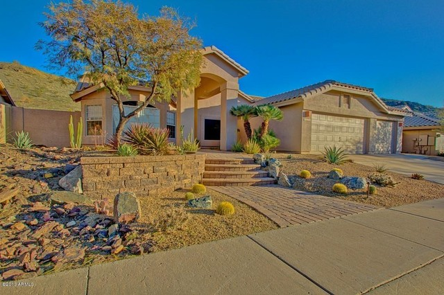 Keller Williams Sonoran Living : Ahwatukee - Shadow Rock - Mediterranean - Exterior ...