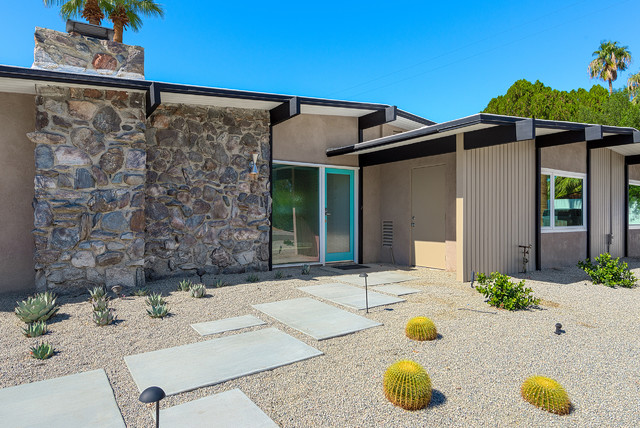 Airlane midcentury exterior other metro by house amp homes palm