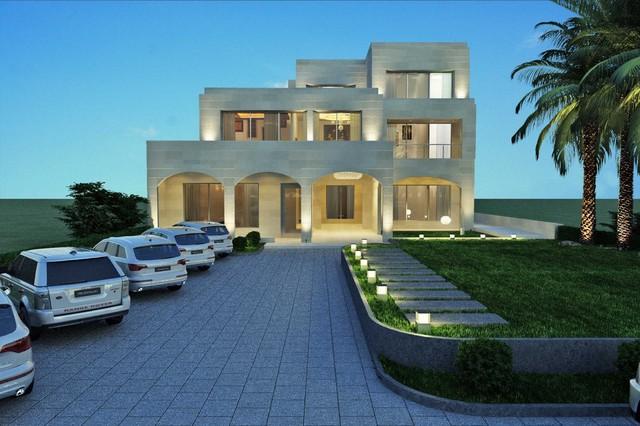 Al adailiya villa kuwait for Modern house design kuwait