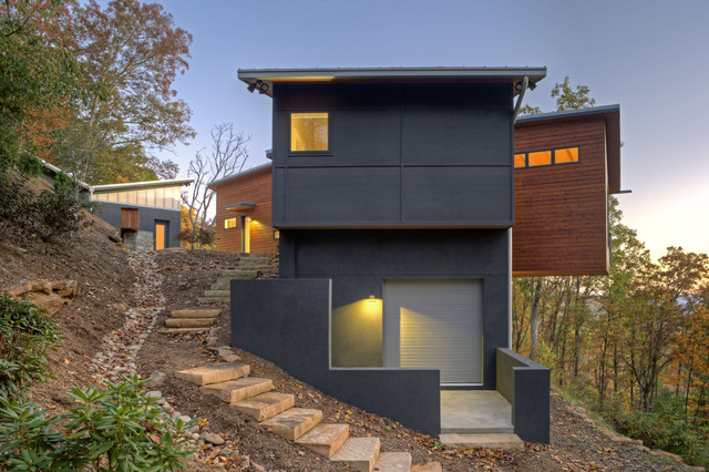 aleph house modern exterior other metro by siegman associates