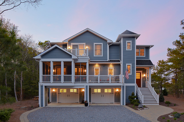 All American Beach Style Exterior