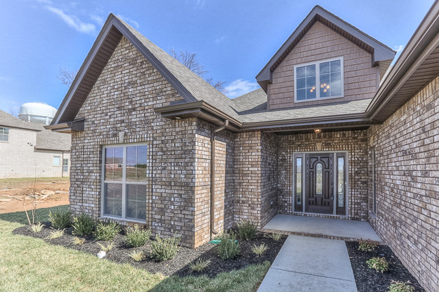 All brick ranch home in gated community for All brick homes