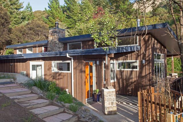 Allandale House contemporary-exterior
