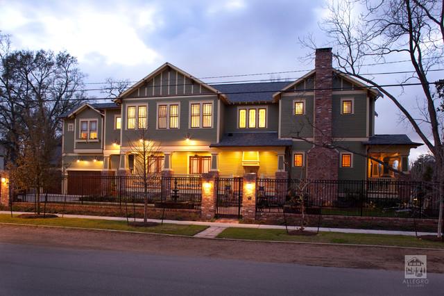 Allegro Builders + 6 1/2 Street traditional-exterior