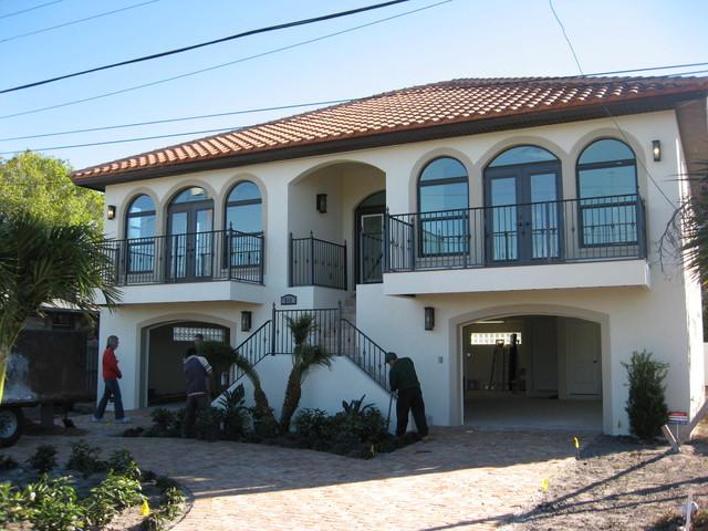 Allen beach house mediterranean-exterior