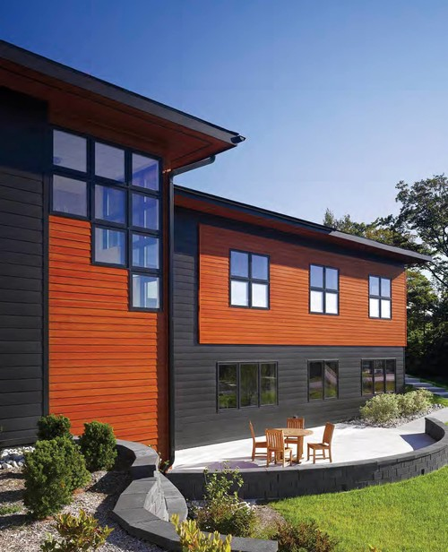 17 fiber cement siding color ideas for Modern house exterior materials