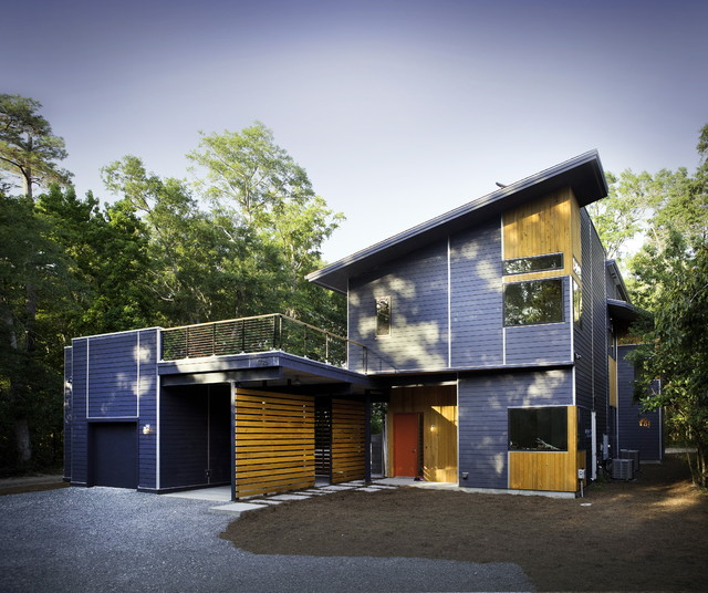 Althea Way House Modern Exterior Wilmington By B