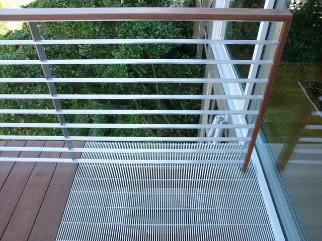 aluminum close mesh grating - Exterior - San Francisco ...