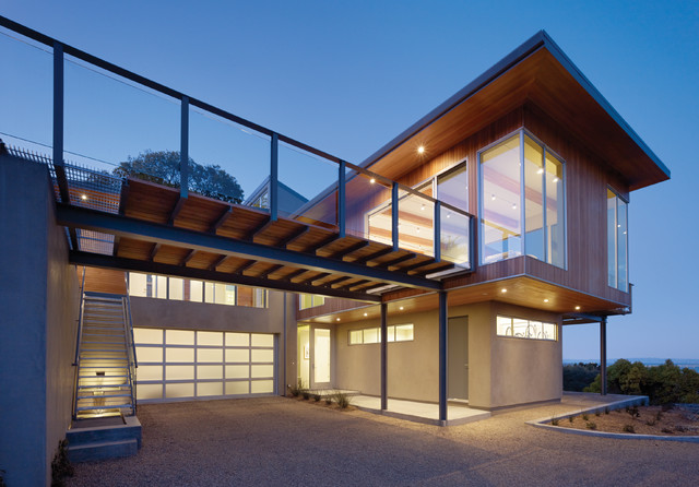 Aluminum Doors Contemporary Exterior