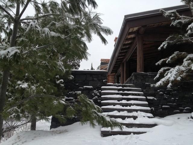 Amanjarvi - Log Cabin traditional-exterior