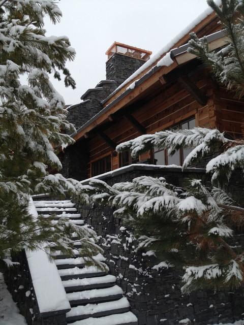 Amanjarvi - Main Cabin traditional-exterior