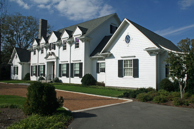 American Colonial Revival Traditional Exterior Other